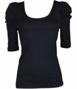 blouse noir